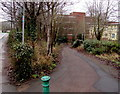 SO5039 : Path descending from Barton Road, Hereford by Jaggery