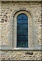 SP8526 : Stewkley church: Norman window by Stefan Czapski