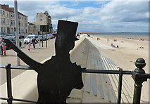NZ6025 : The seafront at Coatham Sands, Redcar by Mat Fascione