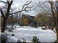 TQ4577 : Rockcliffe Gardens in winter by Marathon