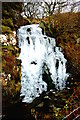 NG2149 : Frozen waterfall / Eas reòite by Tiger