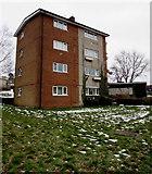 ST3096 : Four-storey flats, Caerwent Road, Croesyceiliog, Cwmbran by Jaggery
