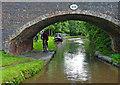SK1511 : Brookhay Bridge near South Fradley in Staffordshire by Roger  Kidd