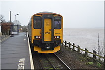 SX9886 : Exmouth Train at Exton Station by N Chadwick