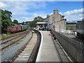J4844 : Downpatrick railway station, County Down by Nigel Thompson
