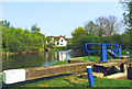 TL7508 : Little Baddow Lock and Mill House by Des Blenkinsopp