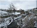 SD9197 : Straw Beck, upstream [west] of Muker Bridge by Christine Johnstone