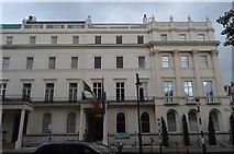 TQ2879 : Italian Cultural Institute, Belgrave Square by N Chadwick