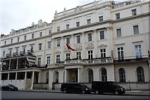 TQ2879 : Turkish Embassy, Belgrave Square by N Chadwick