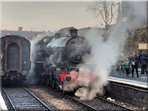 SD8010 : LMS Jubilee Class (4)5690 Leander at Bolton Street by David Dixon