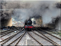 SD8010 : East Lancashire Railway, Wartime Steam at Jubilee Way by David Dixon