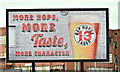 J3475 : Hop House 13, advertisement, Belfast (March 2018) by Albert Bridge