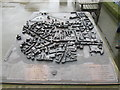 SO5039 : Model of the City of Hereford by Fabian Musto