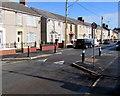 SN4300 : Traffic calming on the  B4311 Ashburnham Road, Pembrey by Jaggery
