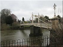 SO5139 : Victoria Bridge (Hereford) by Fabian Musto