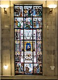 SJ8397 : Shakespeare Window, Manchester Central Library by Gerald England
