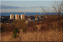 NJ9503 : View from Tullos Hill by Anne Burgess
