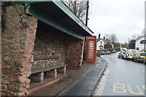 SY0087 : Bus stop, Woodbury by N Chadwick