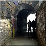 SE2932 : Pedestrian subway under the former Midland Railway by Alan Murray-Rust