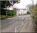 ST4988 : Zebra crossing on a hump, Crick Road, Portskewett by Jaggery