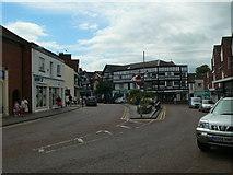 SJ6552 : Nantwich Town Centre by Eirian Evans