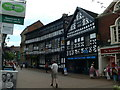 SJ6552 : Traffic-free Nantwich High Street by Eirian Evans