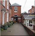 SO5039 : Quaker Meeting House in Hereford city centre by Jaggery