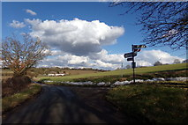 TL1421 : Lye Hill, Diamond End by Adrian Cable