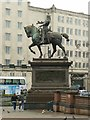SE2933 : Black Prince Statue, City Square by Alan Murray-Rust