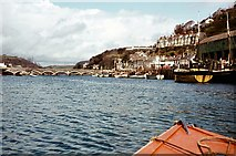 SX2553 : Boating On The River Looe by Peter Jeffery