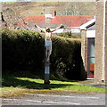 SN4401 : Calvary outside Our Lady Star of the Sea Catholic Church, Burry Port by Jaggery