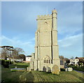 ST3049 : St Andrew's Church, Burnham-on-Sea by PAUL FARMER