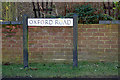 TL1522 : Oxford Road sign by Adrian Cable