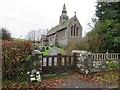 SO0254 : Gate to the church yard by Bill Nicholls