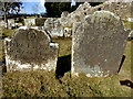 H3174 : Ancient headstones, Lackagh graveyard by Kenneth  Allen