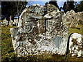 H3174 : Headstone with faces, Lackagh graveyard : Week 11