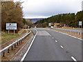 NH8226 : Slochd Summit, Northbound A9 by David Dixon
