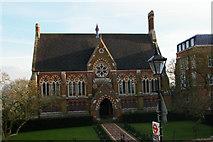 TQ1587 : Vaughan Library, Harrow School by Christopher Hilton