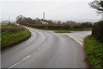 SY0087 : Woodbury Rd, Bonds Lane junction by N Chadwick