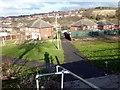 SK4492 : Footpath between Far Lane and Herringthorpe Valley Road by Graham Hogg