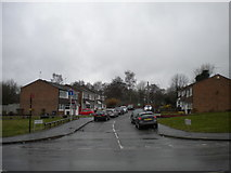 SP0882 : Cul de sac off Yardley Wood Road, Wake Green by Richard Vince