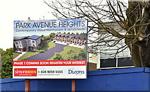 J3774 : Park Avenue Heights, Belfast - March 2018(1) by Albert Bridge