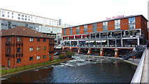SP0686 : Ice on the Worcester & Birmingham Canal by Richard Cooke
