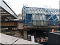 TQ3079 : Waterloo station: works on the former Eurostar terminal by Christopher Hilton