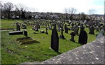 SN4201 : St Illtyd's churchyard, Pembrey by Jaggery