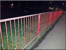 TQ1988 : Railings in Roe Green Park, Kingsbury by David Howard