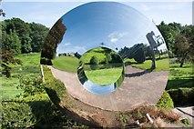ST3708 : Cricket St Thomas: Garden Mirror by Mr Eugene Birchall