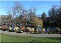 TQ2979 : Western tip of St James's Park Lake by Rudi Winter
