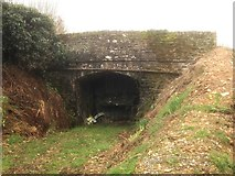 SS6744 : Lynton and Barnstaple Railway Bridge 61 by Barrie Cann