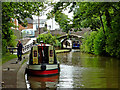 SP3098 : Coventry Canal in Atherstone, Warwickshire by Roger  Kidd